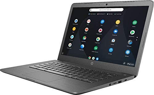 HP Newest 14inch Chromebook AMD Dual-Core A4-9120C Processor, 4GB DDR4 Memory, 32GB eMMC Storage, AMD Radeon R4 Graphics, Chrome OS-Gray(Renewed) 3