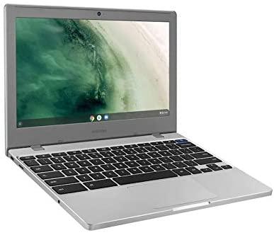 2021 Newest Samsung Chromebook 4 11.6 Inch Laptop, Intel Celeron N4000 up to 2.6 GHz, 4GB LPDDR4 RAM, 32GB eMMC, WiFi, Bluetooth, Webcam, Chrome OS + NexiGo 32GB MicroSD Card Bundle 4