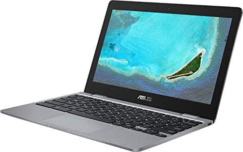 2021 Newest Asus Chromebook 11.6 Inch Laptop, Intel Celeron N3350 up to 2.4 GHz, 4GB RAM, 16GB eMMC, WiFi, Bluetooth, Webcam, Chrome OS + NexiGo 128GB MicroSD Card Bundle 3