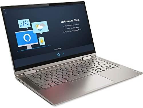 "2021 Newest Lenovo Yoga 2-in-1 Convertible Laptop, 14"" FHD Touch Screen, Intel Core i5-10210U Processor, 8GB RAM, 1TB SSD, Backlit Keyboard, Fingerprint Reader, USB-C, Mica, Win 10 + Oydisen Cloth 4"