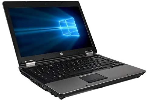 HP ProBook 6450b 14 Inch Business Laptop, Intel Core i5-520M 2.4GHz, 4G DDR3, 500G, DVD, WiFi, VGA, Display Port, Windows 10 Pro 64 Bit-Multi-Language Supports English/French/Spanish(Renewed) 2