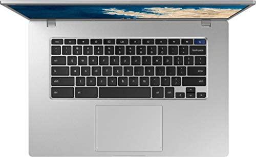 """2021 Newest Samsung Chromebook 4+, 15.6"""" Full HD Screen, Intel Celeron N4000 Processor, 4GB DDR4 Memory, 32GB eMMC, Webcam, Bluetooth, Online Class Ready, Chrome OS, KKE 64GB Micro SD Card 4"""