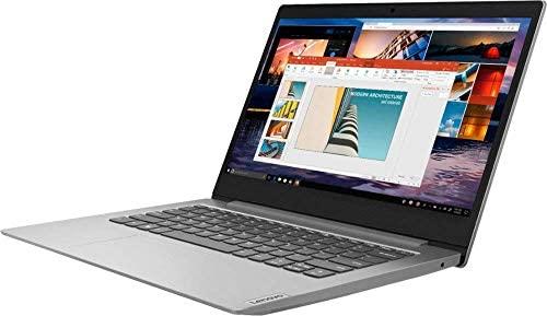 "Lenovo IdeaPad 1 14"" Laptop Computer for Business Student, AMD A6-9220e up to 2.4GHz, 4GB DDR4 RAM, 64GB eMMC, 802.11AC WiFi, Bluetooth 4.2, Webcam, Grey, Windows 10 S Mode, BROAGE 16GB Flash Drive 4"