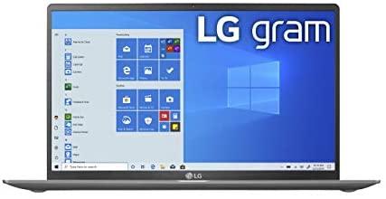 LG gram Laptop 15.6Inch IPS Touchscreen, Intel 10th Gen Core i71065G7 CPU, 8GB RAM, 256GB M.2 NVMe SSD, 17 Hours Battery, Thunderbolt 3 15Z90NR.AAS7U1 2020 13