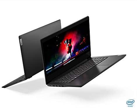 """2021 Newest Lenovo Ideapad 3 Premium Laptop, 14"""" HD Display, Intel Pentium Gold 6405U 2.4 GHz, 8GB DDR4 RAM, 128GB NVMe M.2 SSD, Bluetooth 5.0, Webcam, WiFi, HDMI, Windows 10 S, Black + Oydisen Cloth 8"""