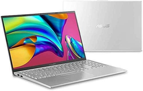 2020 ASUS VivoBook Ultra Thin and Lightweight 15.6'' Full HD Laptop Computer AMD Quad-Core Ryzen 5 3500U up to 3.7GHz 12GB DDR4 RAM 1TB PCIe SSD Radeon Vega Graphics Bluetooth Windows 10 BesTry bundle 5