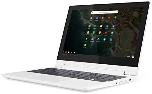 Lenovo Chromebook C330 2-in-1 Convertible Laptop, 11.6-Inch HD (1366 x 768) IPS Display, MediaTek MT8173C Processor, 4GB LPDDR3, 64 GB eMMC, Chrome OS, 81HY0000US, Blizzard White 3