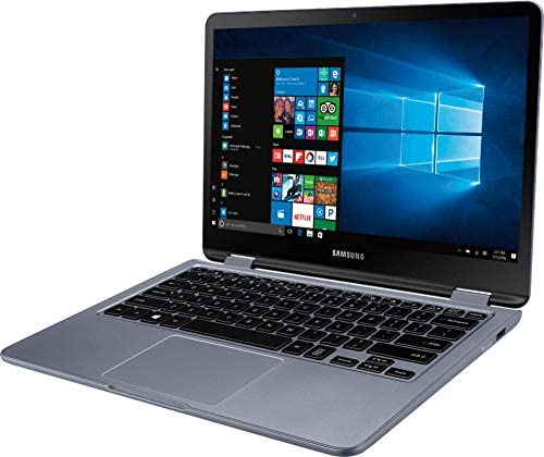 """Samsung - Notebook 7 Spin 2-in-1 13.3"""" Touch-Screen Laptop - Intel Core i5 - 8GB Memory - 512GB Solid State Drive - Stealth Silver (Renewed) 2"""
