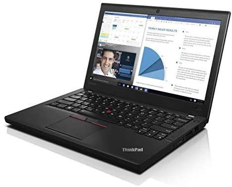 Lenovo ThinkPad X260 Business Laptop, 12.5 inches IPS Display / Intel Core i5-6300U 2.4Ghz (up to 3.00 GHz) / 256GB SSD / 16GB DDR4 / Windows 10 Pro / WiFi / Bluetooth (Renewed) 2