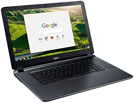 """2018 Acer CB3-532 15.6"""" HD Chromebook with 3x Faster WiFi, Intel Dual-Core Celeron N3060 up to 2.48GHz, 2GB RAM, 16GB SSD, HDMI, USB 3.0, Webcam, 12-Hours Battery, Chrome OS 3"""
