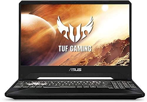 """Asus TUF Gaming Laptop, 15.6"""" IPS Full HD, AMD Quad-Core Ryzen 7 3750H, Nvidia GeForce GTX 1650, RGB Backlit Keyboard, Webcam, BT, Windows 10 + CUE Accessories (8GB DDR4, 256GB SSD) 5"""