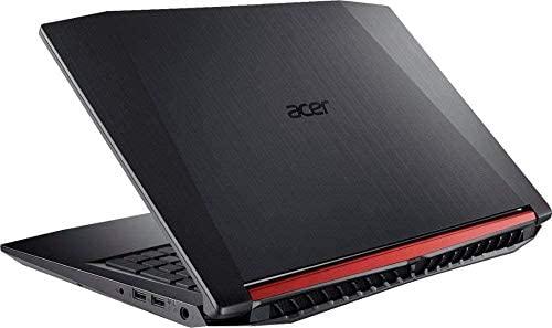 "2019 Acer Nitro 5 15.6"" FHD Gaming Laptop - Quad-core Intel i5-8300H, 12GB DDR4, NVIDIA GeForce GTX 1050 Ti with 4GB GDDR5, 256GB PCIe SSD, Backlit KBD, Shale Black 3"