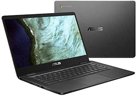 Asus Intel Celeron N3350 4GB Reminiscence 32GB eMMC 14-Inch Chromebook (Slate Grey) 4
