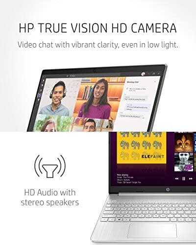 "HP 15 Laptop, 11th Gen Intel Core i5-1135G7 Processor, 8 GB RAM, 256 GB SSD Storage, 15.6"" Full HD IPS Display, Windows 10 Home, HP Fast Charge, Lightweight Design (15-dy2021nr, 2020) 5"