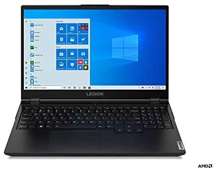 "Lenovo Legion 5 Gaming Laptop, 15.6"" FHD (1920x1080) IPS Screen, AMD Ryzen 7 4800H Processor, 16GB DDR4, 512GB SSD, NVIDIA GTX 1660Ti, Windows 10, 82B1000AUS, Phantom Black 2"
