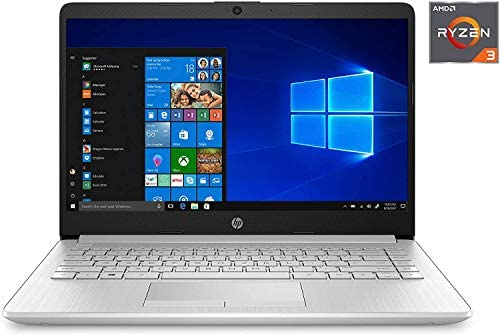"""HP 14-fq0032ms Laptop for Business and Student, 14"""" LED Touchscreen, AMD Ryzen 3 3250U Processor(up to 3.5 GHz), 8GB RAM, 128GB SSD, Webcam, WiFi, Ethernet, HDMI, USB-A&C, Win10 6"""
