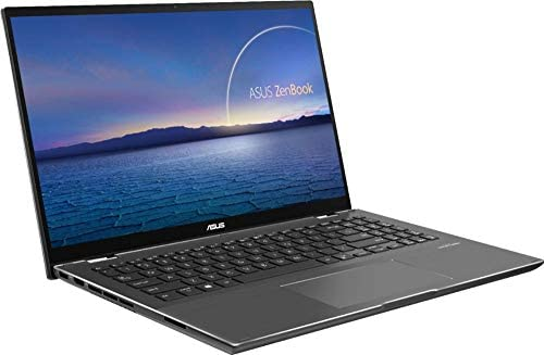 """2021 ASUS Zenbook Flip 15.6"""" FHD (1920x1080) Touch 2-in-1 Business Laptop (Intel 11th Gen 4-Core i7-1165G7, 16GB RAM, 1TB SSD, GTX1650 MaxQ 4GB) Backlit, 2xThunderbolt 4, Windows 10 + IST HDMI Cable 4"""