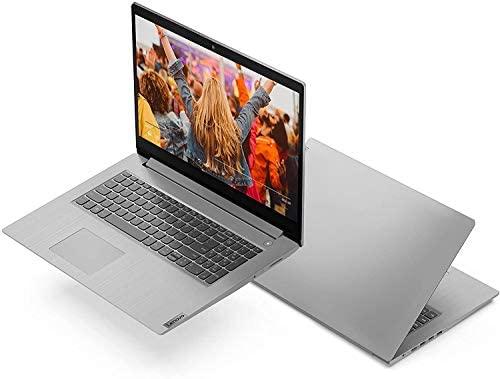"Newest Lenovo Flagship Ideapad 3 17 Laptop 17.3"" HD+ Anti-Glare Intel Quad-Core i5-1035G1(Beats i7-8550U) 16GB RAM 512GB SSD for Business and Student Webcam Dolby Windows 10 Pro | 32GB Tela USB Card 8"
