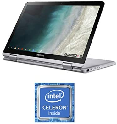 "Samsung Chromebook Plus V2, 2-in-1, 4GB RAM, 32GB eMMC, 13MP Camera, Chrome OS, 12.2"", 16:10 Aspect Ratio, Light Titan (XE520QAB-K01US) 6"