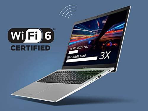 "Acer Aspire 5 A515-56-363A, 15.6"" Full HD IPS Display, 11th Gen Intel Core i3-1115G4 Processor, 4GB DDR4, 128GB NVMe SSD, WiFi 6, Backlit Keyboard, Windows 10 Home (S Mode) 4"