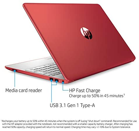 "2021 Newest 15.6"" HP Pavilion HD Laptop, Intel Dual-core Pentium Processor, Intel UHD Graphics, HD Webcam, Bluetooth, HDMI, USB Type-C, Scarlet Red, Windows 10 + Oydisen Cloth (8GB | 256GB SSD) 5"