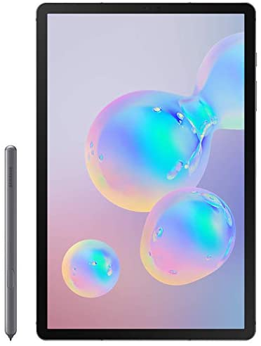 "Samsung Galaxy Tab S6- 10.5"" 128GB, Wifi Tablet - SM-T860NZAAXAR, Mountain Gray 5"