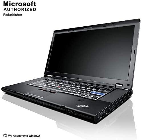 Lenovo ThinkPad T520 Laptop Notebook - Intel Core i5 2.5GHz - 8GB DDR3 - 128GB SSD - 15.6in Display- DVD - Windows 10 Pro (Renewed) 2