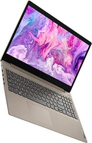"2021 New Lenovo IdeaPad 3 15"" HD Touch Screen Laptop, Intel Dual-Core i3-1005G1 Up to 3.4GHz (Beats i5-7200u), 12GB DDR4 RAM, 256GB PCI-e SSD, Webcam, WiFi 5, HDMI, Windows 10 S + Oydisen Cloth 2"