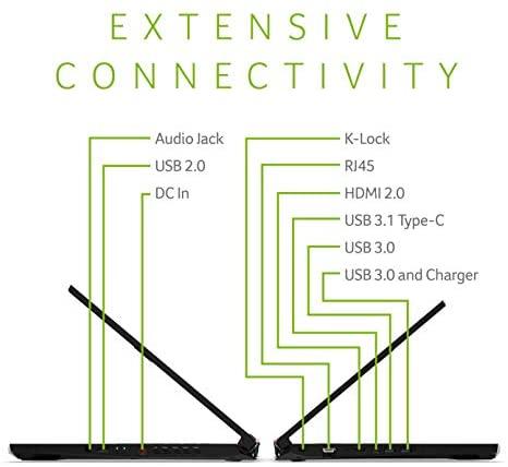 "Acer Nitro 5 Gaming Laptop, 9th Gen Intel Core i5-9300H, NVIDIA GeForce GTX 1650, 15.6"" Full HD IPS Display, 8GB DDR4, 256GB NVMe SSD, Wi-Fi 6, Backlit Keyboard, Alexa Built-in, AN515-54-5812 4"