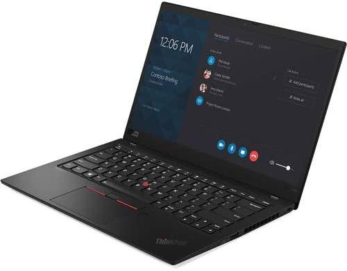"""Lenovo ThinkPad X1 Carbon 20QES8X600, 14"""" Full HD Laptop, i5-8265U, 8GB Ram, 512GB SSD, Win 10 Pro, Black 3"""