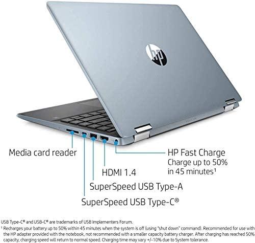 "2021 HP Pavilion x360 2in1 14"" FHD IPS Touchscreen Laptop, Intel Quad-Core i5-1035G1(Beat i7-8550U), 8GB RAM, 512GB PCIe SSD, Webcam, WiFi, HDMI, USB-A&C, Audio by B&O, Fast Charge, w/GM Accessories 6"