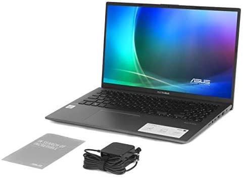"Newest ASUS VivoBook 15.6"" FHD Touchscreen Laptop, 10th Gen Intel Quad-Core i5-1035G1 up to 3.6GHz, 12GB DDR4 RAM, 512GB SSD, Fingerprint Reader, WiFi,HDMI, Windows 10 S + AllyFlex Mouspad 8"