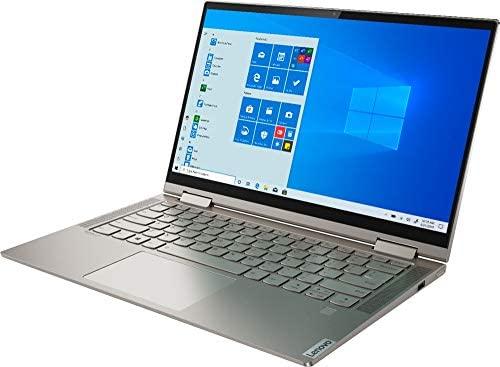 "2020 Lenovo Yoga C740 14"" FHD IPS Touchscreen Premium 2-in-1 Laptop, 10th Gen Intel Quad Core i5-10210U, 8GB RAM, 256GB PCIe SSD, Backlit Keyboard, Fingerprint Reader, Windows 10, Aluminum Chassis 3"