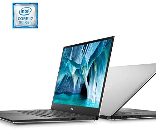 Dell XPS 15 7590 Laptop 15.6 inch, 4K UHD OLED InfinityEdge, 9th Gen Intel Core i7-9750H, NVIDIA GeForce GTX 1650 4GB GDDR5, 256GB SSD, 16GB RAM, Windows 10 Home, XPS7590-7572SLV-PUS, 15-15.99 inches 8