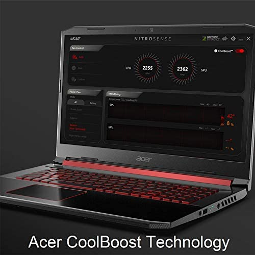 "Acer Nitro 5 Gaming Laptop, 9th Gen Intel Core i5-9300H, NVIDIA GeForce GTX 1650, 15.6"" Full HD IPS Display, 8GB DDR4, 256GB NVMe SSD, Wi-Fi 6, Backlit Keyboard, Alexa Built-in, AN515-54-5812 5"