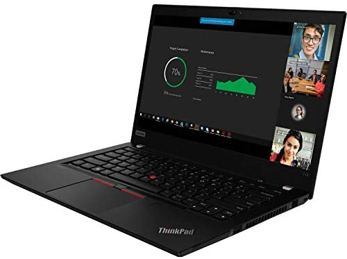 "Lenovo ThinkPad T14 Home and Business Laptop (AMD Ryzen 5 PRO 4650U 6-Core, 16GB RAM, 256GB PCIe SSD, AMD Radeon Graphics, 14.0"" Full HD (1920x1080), Fingerprint, Wifi, Bluetooth, Win 10 Pro) with Hub 4"