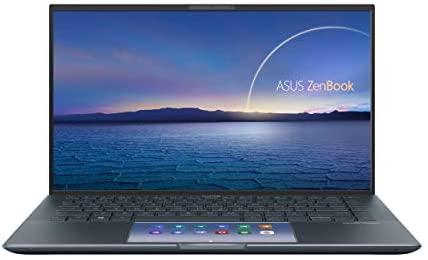 "ASUS ZenBook 14 Ultra-Slim Laptop 14"" FHD NanoEdge Bezel Display, Intel Core i7-1165G7, NVIDIA MX450, 16GB RAM, 512GB SSD, ScreenPad 2.0, Thunderbolt 4, Windows 10 Pro, Pine Grey, UX435EG-XH74 2"