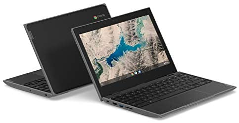"Lenovo 100E Chromebook 2ND Gen Laptop, 11.6"" HD (1366 X 768) Display, MediaTek MT8173C Processor, 4GB LPDDR3 RAM, 16GB eMMC TLC SSD, Powervr GX6250, Chrome OS, 81QB000AUS, Black 7"