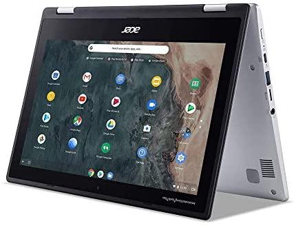 "2020 Acer Chromebook Spin 311 2-in-1 11.6"" HD Touchscreen Laptop Computer, Intel Celeron N4000, 4GB RAM, 64GB eMMC, Intel UHD Graphics 600, Wi-Fi, Bluetooth, USB-C, Chrome OS, Silver, 128GB USB Card 5"