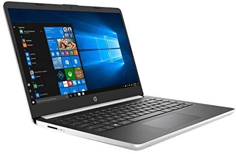 "HP 14 14.0"" FHD Laptop Computer, Intel Quad-Core Pentium Silver N5000 up to 2.7GHz, 4GB DDR4 RAM, 64GB eMMC, 802.11AC WiFi, Webcam, 1-Year Office 365, Online Class Ready, Windows 10 S, BROAGE MousePad 5"