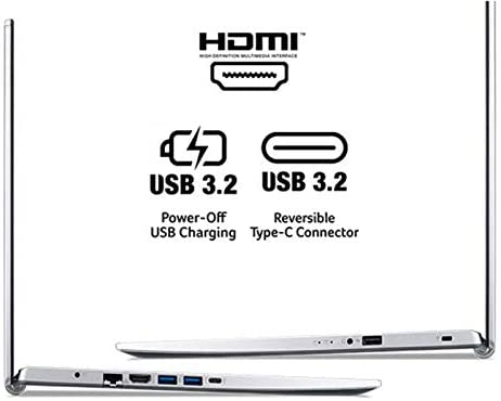 "Acer Aspire 5 A517-52-59SV, 17.3"" Full HD IPS Display, 11th Gen Intel Core i5-1135G7, Intel Iris Xe Graphics, 8GB DDR4, 512GB NVMe SSD, WiFi 6, Fingerprint Reader, Backlit Keyboard 5"