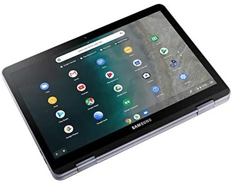 Samsung 12.2-inch Full-HD Touchscreen Chromebook - Intel 3965Y Dual-Core - 4GB Memory - 32GB eMMC Storage - Stealth Silver (Verizon) (Renewed) 2
