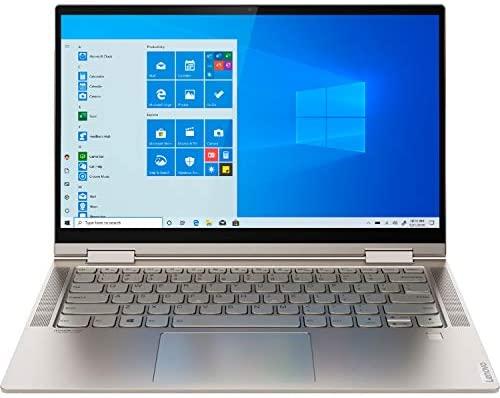 "2021 Newest Lenovo Yoga 2-in-1 Convertible Laptop, 14"" FHD Touch Screen, Intel Core i5-10210U Processor, 8GB RAM, 1TB SSD, Backlit Keyboard, Fingerprint Reader, USB-C, Mica, Win 10 + Oydisen Cloth 8"