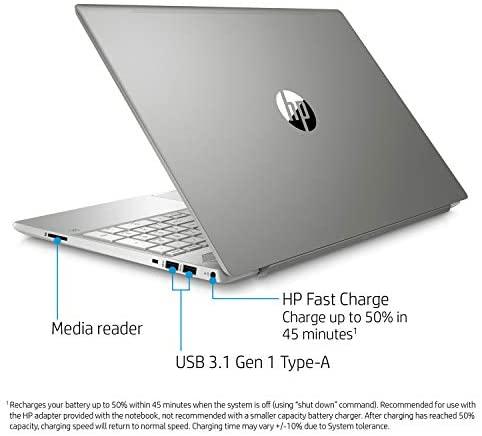 HP Pavilion 15-CS Intel i5-1035G1 12GB 512GB SSD 15.6-Inch Full HD WLED Touch Screen Laptop 3