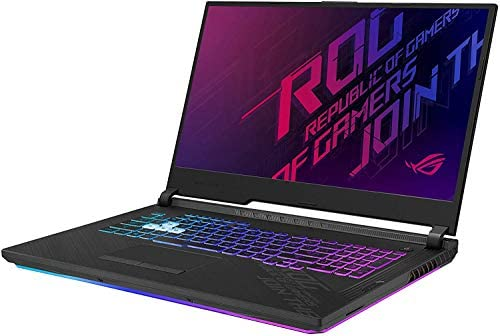 """CUK ROG Strix G17 G712LW by ASUS 17 Inch Gamer Notebook (Intel Core i7-10750H, 64GB RAM, 2TB NVMe SSD, NVIDIA GeForce RTX 2070 8GB, 17.3"""" FHD 144Hz 3ms, Windows 10 Home) Gaming Laptop Computer 2"""