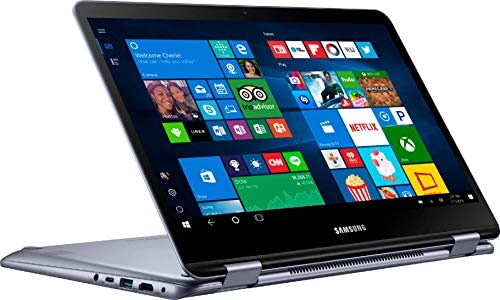"""Samsung - Notebook 7 Spin 2-in-1 13.3"""" Touch-Screen Laptop - Intel Core i5 - 8GB Memory - 512GB Solid State Drive - Stealth Silver (Renewed) 3"""
