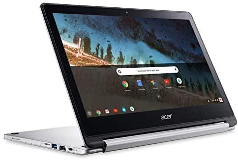 Acer R13 13.3in Convertible 2-in-1 FHD IPS Touchscreen Chromebook - Intel Quad-Core MediaTek MT8173C 2.1GHz, 4GB RAM, 64GB SSD, Bluetooth, HDMI, Chrome OS (Renewed) 3