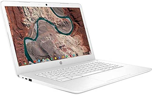 "Hp 14 14"" Chromebook Intel Celeron N3350 4GB Ram 32GB eMMC Snow White 2"