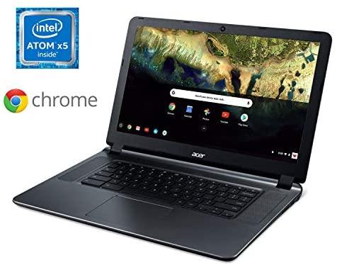 "Acer Chromebook 15, Intel Atom X5-E8000 Quad-Core Processor, 15.6"" HD, 4GB LPDDR3, 16GB eMMC, CB3-532-108H 2"