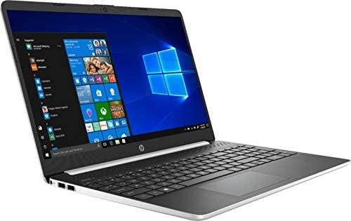 Newest HP 15.6inch Lightweight Laptop, Intel Quad-Core i5-1035G1 Processor Up to 3.60 GHz, 8GB DDR4 RAM, 256GB SSD + 16GB Optane, HDMI, Bluetooth, Win 10-Silver (Renewed) 3